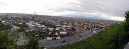 Панорама Еревана (5 мая 2010)