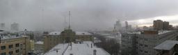 Москва, непогода, белый дом (30 марта 2011)